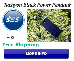 Tachyon Energy Black Power Pendant TP03