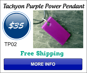 Positive Purple Energy Plate Pendant-TP02
